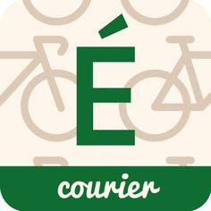 160125 시각_에피세리 courier application 로고디자인