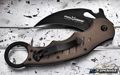 The 479 Karambit from Fox is sure to be a favorite everyday carry for karambit…