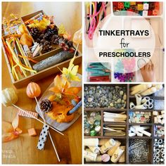 Tinker Tray – STEM Activity for Little Learners (Teaching Mama) Indoor Activities For Kids, Toddler Activities, Preschool Activities, Motor Activities, Reggio Classroom, Preschool Classroom, Classroom Ideas, Preschool At Home, Preschool Science