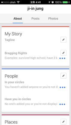 Cards - Google+