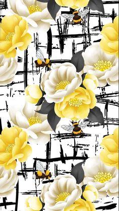New wallpaper floral design 53 Ideas Flowery Wallpaper, Print Wallpaper, Trendy Wallpaper, Computer Wallpaper, New Wallpaper, Mobile Wallpaper, Wallpaper Backgrounds, Wallpaper Iphone Love, Wallpaper Ideas