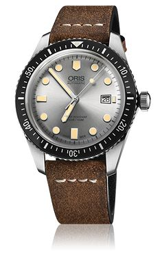 Oris has dived back in time and is delighted to present the Oris Divers Sixty-Five – a revival of an iconic diver's watch that first appeared in the Oris collection 50 years ago. The new Oris Divers Sixty-Five shares the retro looks of the 1960s original, but it's been modernised using 21st century watchmaking techniques. The case is made of anti-corrosive stainless steel. The vintage-inspired bubble-curved glass is made of scratch-resistant sapphire crystal and comes with anti-reflective…