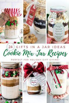 24 Cookie Mix in a Jar Recipe Ideas
