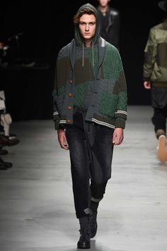 Patchwork knits? Miharayasuhiro - Fall 2015 Menswear - Look 31 of 41