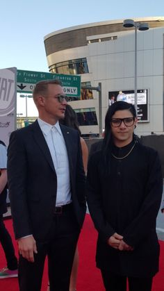 #Diplo and #Skrillex attend the 2015 American Music Awards at Microsoft Theater on November 22, 2015 in Los Angeles, California. #jackÜ #AMAs #wesleypentz #maddecent #redcarpet
