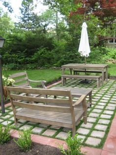Jenny Steffens Hobick: Home : Our New Patio