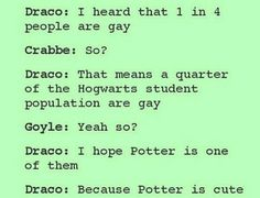 so now we know draco is part of that quarter......y ma lyfe!