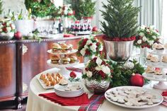 christmas open house menu for a crowd | Holiday Open House - Celebrate Magazine