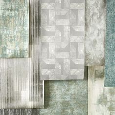 Renzo Wallcoverings is a collection of vinyl wallcoverings that combine innovative embossed textures and pattern. Inspired by architectural structures, geometry and urban finishes such as distresed concrete. Opulent and striking colour combinations with flashes of metallics inject verve and modernity to the collection @villanovafabric • • #chic #decoration #design  #designideas #livingroom #dressyourwall #highend #home #homedecor #homeinterior #instadecor #interior #interiordecoration…