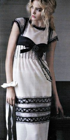 CHANEL - simple but chic...love the accents