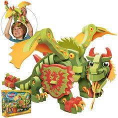 Dragon de combat de Bloco Modèle: BC-20002  http://411buyitnow.com/fr/jeux-jouets/jouets/jeux-de-casse-tetes/dragon-de-combat-bc-20002-de-bloco.html