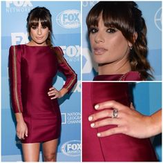 The lovely Lea Michele wearing our #WhiteGold and #Diamond Medium Marquis #Earrings, 2 White Gold #HalfCage #Rings and 2 White Gold and Diamond Cage Bands to the 2015 #FOX Programming Upfront Presentation in #NYC on May 11.  Styled by the talented @BradGoreski.  #LeaMichele #BradGoreski #ScreamQueens #Upfronts2015 #finejewelry #rachelkatzjewelry www.rachelkatzjewelry.com