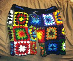 Granny Square shorts