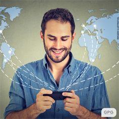 Conectamos as suas redes sociais com o mundo, venha para a #GPG!