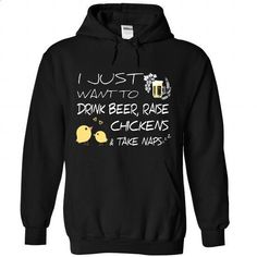 Beer, Chickens And Naps - #harvard sweatshirt #funny t shirts for women. ORDER HERE => https://www.sunfrog.com/Pets/Beer-Chickens-And-Naps-3113-Black-Hoodie.html?60505