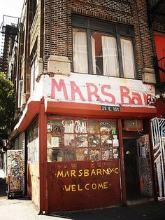 A recent victim of further LES/East Village Gentrification // Mars Bar, East Village 1 by Vivienne Gucwa, via Flickr