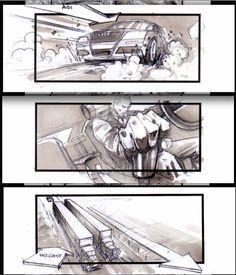 "JONATHAN DELERUE ! "" Transporter""  cars chase sequence"