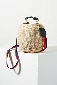 Clare V. Woven Basket Bag