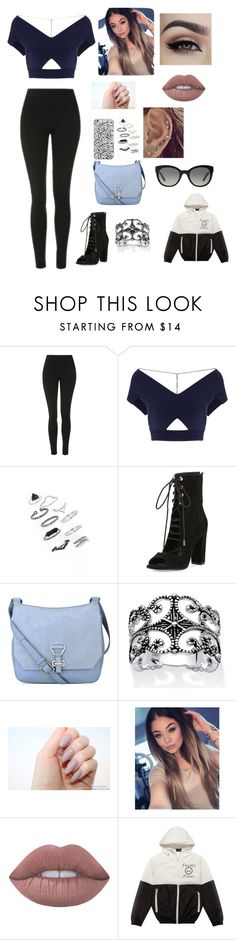 """Tear In My Heart"" by brookeymae ❤ liked on Polyvore featuring Topshop, Roland Mouret, Kendall + Kylie, Nine West, Palm Beach Jewelry, Lime Crime and Burberry"