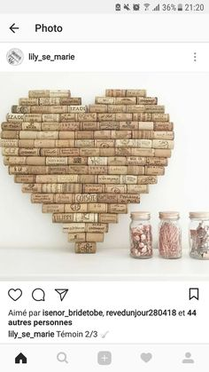 Used Mauve Corks for to buy online for use for trade undertakings like mauve stopper wreaths, cork pin boards, wedding ceremony prefers plus much more. Wine Craft, Wine Cork Crafts, Wine Bottle Crafts, Bottle Bottle, Cork Garland, Wine Cork Projects, Wine Cork Art, Deco Champetre, Deco Table Noel