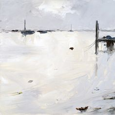 Spring Tide (Wells) Oil on Board Painting | Stephen Robson - Oil on Board