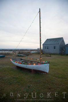 Washington Street Extension Christmas Lights on Boat (CH)