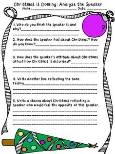 Common Core Christmas Literacy Pack! Informational text, fiction text, and poem included with 7 activities aligned to Common Core Standards! $
