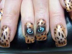 One Eye See Everything of Fabulous Airbrush Nails Design