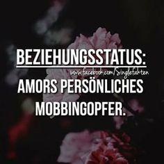 Beziehungsstatus: Amors persönliches Mobbingopfer.