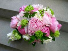 Ramo de novia primaveral