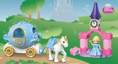 Super cute set for the girls! #LegoDuploParty 6153 Cinderella's Carriage