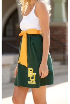 CHICKA-D : Baylor University Women's Babydoll Dress : Baylor Bookstore : www.baylor.bkstr.com