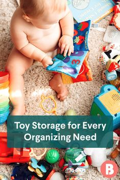 Searching for pretty-but-practical kids' toy storage ideas? Shop these boxes, bins and more for indoor and outdoor spaces—from your living room to your pool area. Nursery Themes, Nursery Decor, Nursery Ideas, Kid Toy Storage, Storage Ideas, Cool Mom Picks, Home Organization Hacks, Nursery Furniture, Outdoor Spaces
