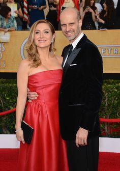 Edoardo Ponti Sasha Alexander Photos: 20th Annual Screen Actors Guild Awards - Arrivals