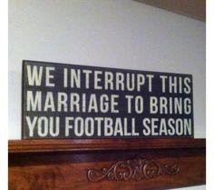 Football marriage