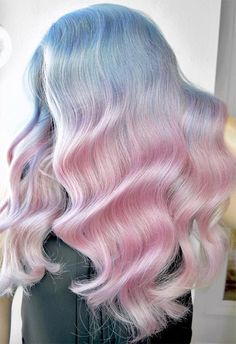 pearl hair Mother-of-Pearl Hair Trend: 53 Iridescent Pearl Hair Colors to Dye for How to Dy. Mother-of-Pearl Hair Trend: 53 Iridescent Pearl Hair Colors to Dye for How to Dye Hair Mother-of-Pearl Hair Color Ombre Hair Color, Blonde Color, Cool Hair Color, Beautiful Hair Color, Pastel Pink Hair, Blue And Pink Hair, Long Pink Hair, Pastel Blonde, Pretty Pastel