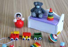 Игрушки для кукол. Часть 1 / Toys for dolls. Part 1