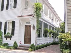 Charleston, single house with double  porches. One of my favorite homes we've owned and restored!