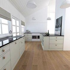 Kitchen design by Nina Th. Fredrikstad, Future House, Norway, Kitchen Design, Kitchen Cabinets, Inspiration, Home Decor, Biblical Inspiration, Decoration Home