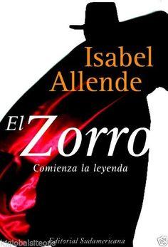 Zorro, El      ISABEL ALLENDE      SIGMARLIBROS
