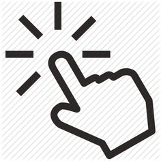 click, cursor, finder, finger, hand, marketing, optimization, seo, tap, touch icon
