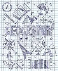 Photo about Vector illustration of Hand drawn Geography set. Illustration of direction, collection, diagram - 49512592 Diy Notebook, Decorate Notebook, Notebook Covers, Project Cover Page, School Binder Covers, School Notebooks, Sketch Notes, Lettering Tutorial, School Notes