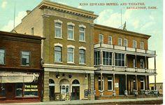 King Edward Hotel and Theatre, Saskatoon, Sask. | saskhistoryonline.ca