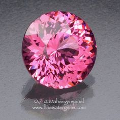 0.71 Mahenge spinel - This guy does nice cuts...
