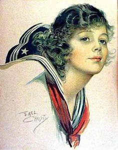 Earl Christy Vintage Prints, Retro Vintage, Illustrators, Dame, Sailor, Pin Up, Snow White, Nostalgia, Disney Characters