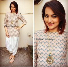 Top Indian fashion and lifestyle blog: Sonakshi in Payal Singhal and Sonali Gupta