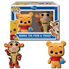 Funko Mini Pop Figures – Pooh and Tigger http://popvinyl.net #funko #funkopop #popvinyls