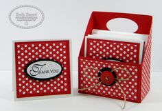 """My little craft blog: 3"""" x 3"""" Cards, Gift Box & Video"""