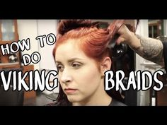 LH EP 010- How To Do Viking/Warrior Braids - YouTube