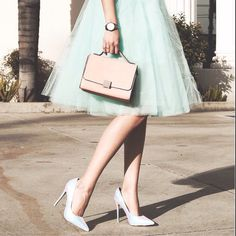 Mint Tulle Skirt (48.00 USD) by Welcometoroyalty
